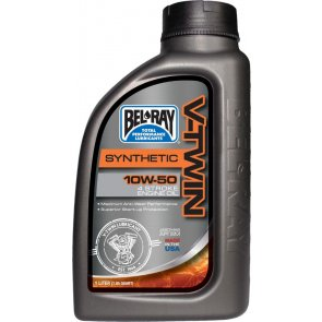 BEL-RAY V-TWIN SYNTHETIC ENG OIL 10W-50 1L
