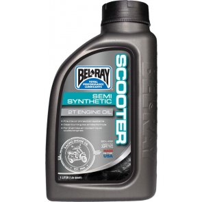 BEL-RAY SCOOTER SEMI-SYNTHETIC 2T ENG OIL 1L