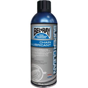 BEL-RAY SUPER CLEAN CHAIN LUBE 400ML