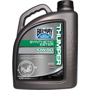BEL-RAY WORKS THUMPER SYNTHETIC ESTER 4T 10W-50 4L