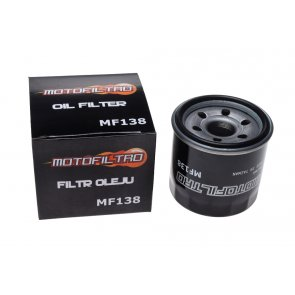 MOTOFILTRO OIL FILTER MF138 (HF138) 16510-06B00