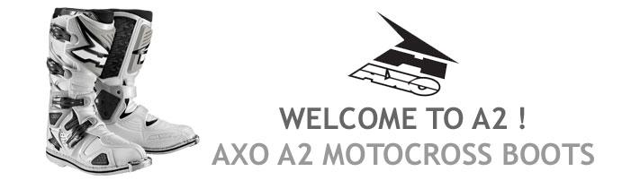 AXO A2 Motocross Boots