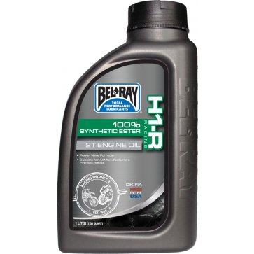 BEL-RAY H1-R SYNTHETIC ESTER 2T RACE ENG OIL 1L