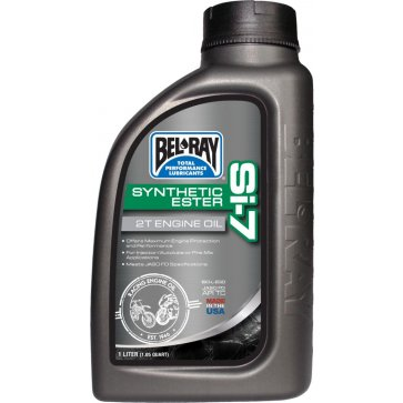 BEL-RAY SI-7 SYNTHETIC 2T ENG OIL 1L