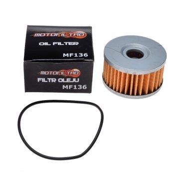 MOTOFILTRO OIL FILTER MF136 (HF136) 16510-38240
