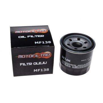 MOTOFILTRO OIL FILTER MF138 (HF138) 16510-06B00