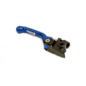 TORC1 RACING VENGEANCE 2.0 FLEX BRAKE LEVER HUSQVARNA TC/FC ALL 2013 & SHERCO SE-R/F 250/300/450 2011-2015 BLACK/BLUE