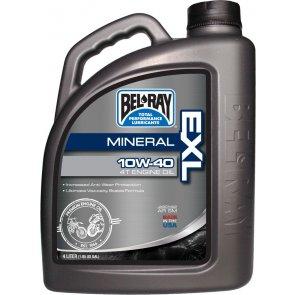 BEL-RAY EXL MINERAL 4T ENG OIL 10W-40 4L