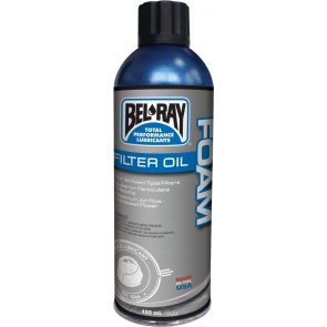 BEL-RAY FOAM FILTER OIL SPRAY 400ML