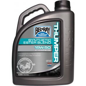 BEL-RAY THUMPER RACING SYNTHETIC ESTER 4T 15W-50 4L