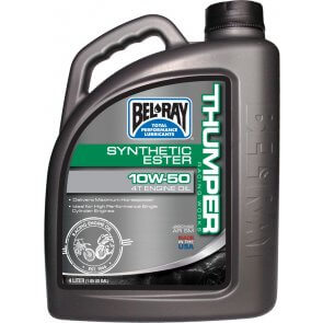 BEL-RAY WORKS THUMPER SYNTHETIC ESTER 4T 10W-60 4L