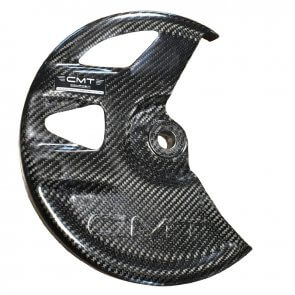 CMT CARBON FRONT DISC GUARD 270mm KTM SX/SXF 125/250/350/450 2011-2014 & HUSQVARNA TC/FC 2014