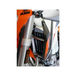 MECA'SYSTEM ALU RADIATOR BRACES KTM EXC 2T/EXC-F 250/350 2017 - 2018