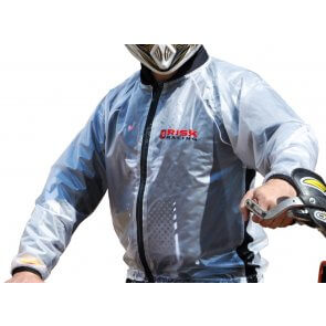 RISK RACING HYDRO RAIN JACKET (LARGE)