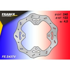 FRANCE EQUIPEMENT REAR WAVE BRAKE DISC SUZUKI RMZ 250/450 08-18