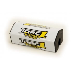 TORC1 RACING ATTACK O/S BAR PAD WHITE