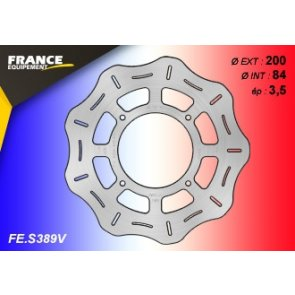 FRANCE EQUIPEMENT REAR WAVE BRAKE DISC SUZUKI RM 85 07-12