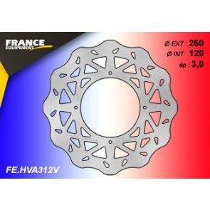 FRANCE EQUIPEMENT FRONT WAVE BRAKE DISC HUSQVARNA TC/TE 450/510 07-10