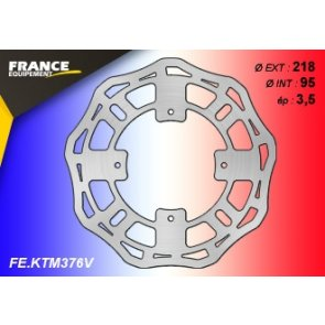 FRANCE EQUIPEMENT FRONT WAVE BRAKE DISC KTM SX 85 SW 07-12 & BW 07-18