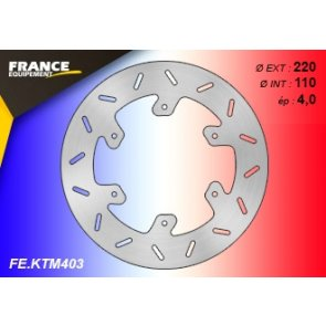 FRANCE EQUIPEMENT REAR BRAKE DISC KTM 125+ 07-18 & HQV 125+ 14-18