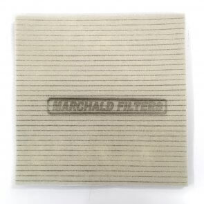 MARCHALD DUAL LAYER GROOVED FILTER FOAM (33x33x1.5cm)