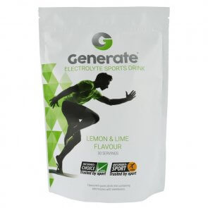GENERATE ELECTROLYTE SPORTS DRINK 405g POUCH (LEMON & LIME)