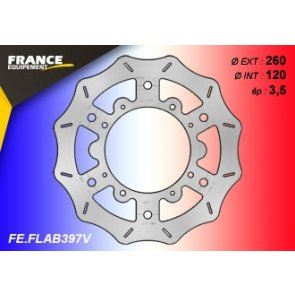 FRANCE EQUIPEMENT FRONT WAVE BRAKE DISC BETA RR 400/450 4T 10-18