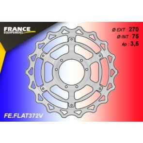 FRANCE EQUIPEMENT FRONT WAVE BRAKE DISC TM MX/EN 125/250/300/450 10-18