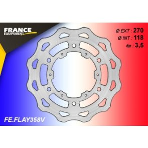 FRANCE EQUIPEMENT FRONT WAVE BRAKE DISC YAMAHA YZF 250/450 16-18
