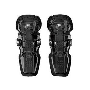 AXO DE LUXE JUNIOR KNEE GUARD BLACK