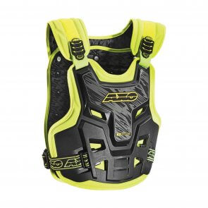 AXO DEFENDER BODY ARMOUR (BLACK/YELLOW)