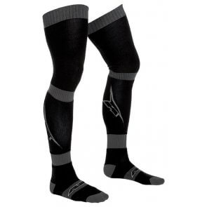 AXO PIPPI LONG SOCKS BLACK/GREY (PAIR)