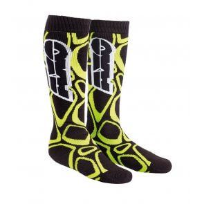 AXO OFF ROAD SOCKS BLACK/YELLOW (PAIR)