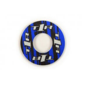TORC1 RACING GRIP DONUTS BLACK/BLUE (PAIR)