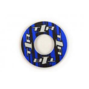 TORC1 RACING GRIP DONUTS BLACK/BLUE (PAIR)