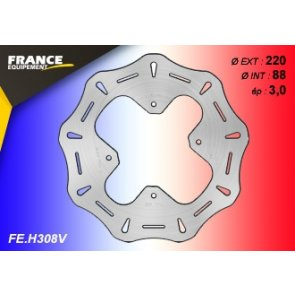 FRANCE EQUIPEMENT FRONT WAVE BRAKE DISC HONDA CRF 150 07-18