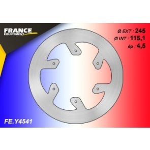 FRANCE EQUIPEMENT REAR SOLID BRAKE DISC YAMAHA YZ 125/250 & YZF/WRF 250/450 07-18