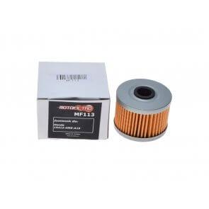 MOTOFILTRO OIL FILTER MF113 (HF113) 15412-HM5-A10