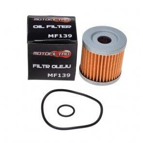 MOTOFILTRO OIL FILTER MF139 (HF139) 16510-29F00