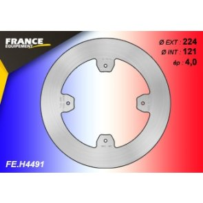 FRANCE EQUIPEMENT REAR SOLID BRAKE DISC HONDA CR/CRF/CRF-X 07-17
