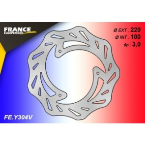 FRANCE EQUIPEMENT FRONT WAVE BRAKE DISC SUZUKI RM 85 07-14 & YAMAHA YZ 85 07-17