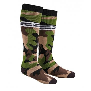 AXO OFF ROAD SOCKS GREEN/CAMMO (PAIR)