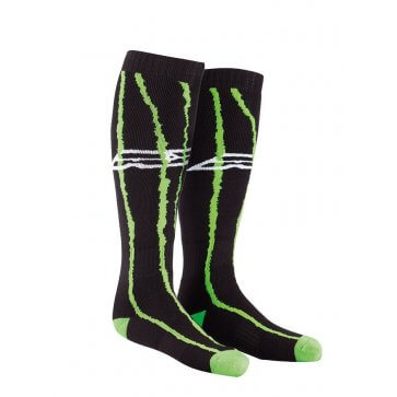 AXO OFF ROAD SOCKS BLACK/GREEN (PAIR)