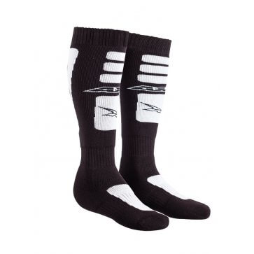AXO OFF ROAD SOCKS BLACK/WHITE (PAIR)