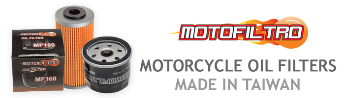 MotoFiltro Motorcycle Oil Filters